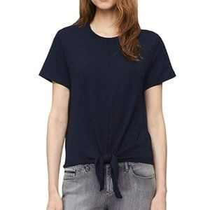 NEW Calvin Klein Front Tie Knot Jersey Knit Top